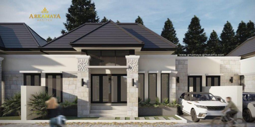 JASA ARSITEK YOGYAKARTA - Jasa Desain Bangun Rumah - Arkamaya Arsitek Kontraktor Jogja - Rumah 1 Lantai 60m2 - Bpk. Anang Sugiyono SLEMAN