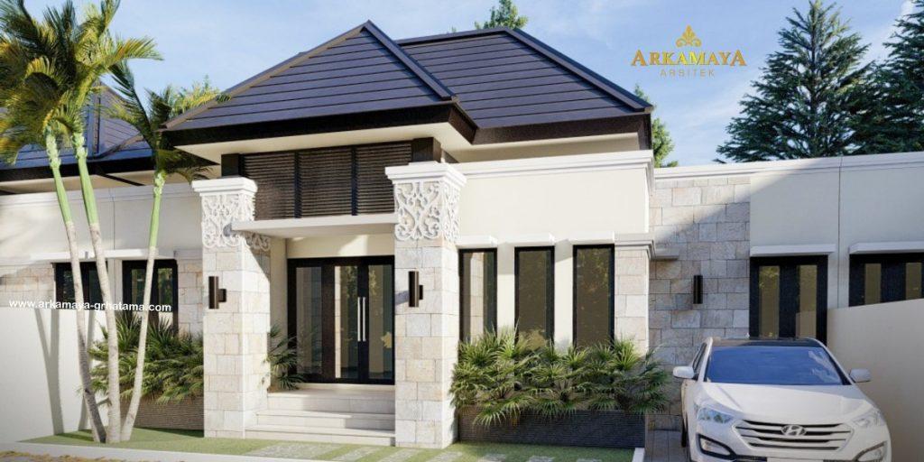 JASA ARSITEK YOGYAKARTA - Jasa Desain Bangun Rumah - Arkamaya Arsitek Kontraktor Jogja - Rumah Bertingkat 90m2 - Bp. Anang S YOGYAKARTA