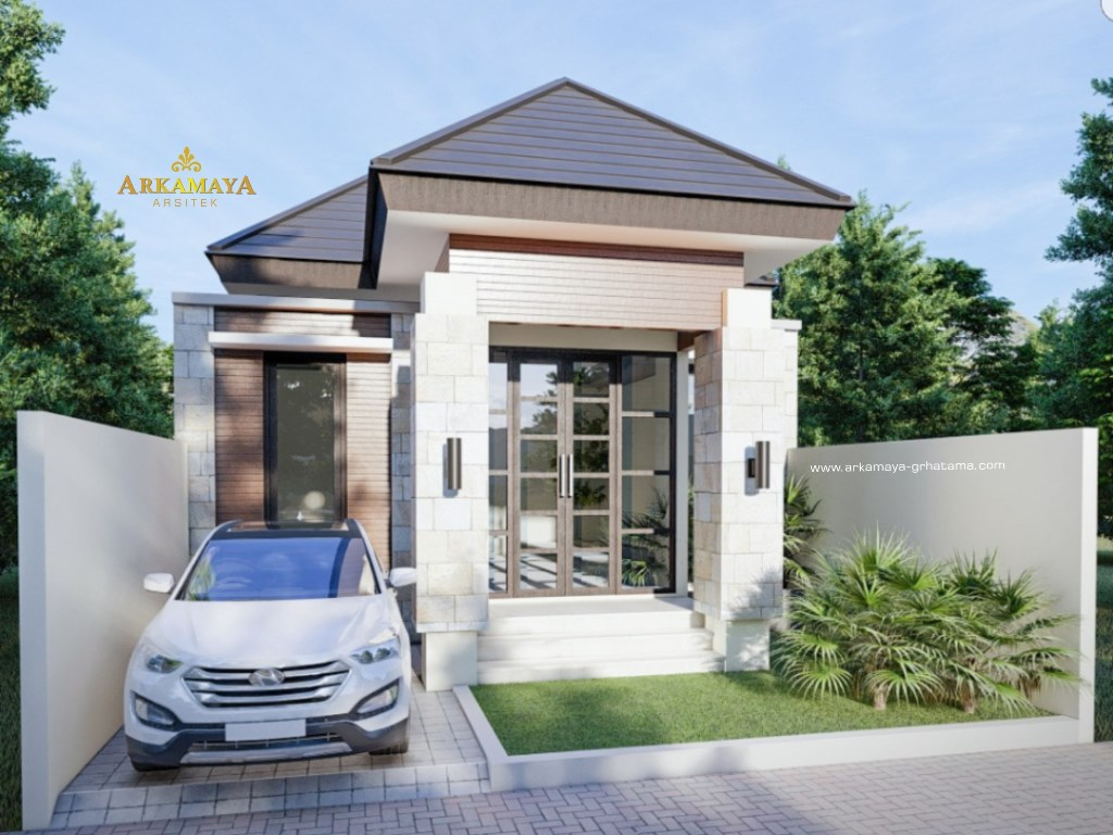 JASA ARSITEK KULONPROGO - Jasa Desain Bangun Rumah - Arkamaya Arsitek Kontraktor Jogja - Rumah 1 Lantai 120m2 - Bp. Rachmat KULONPROGO 3