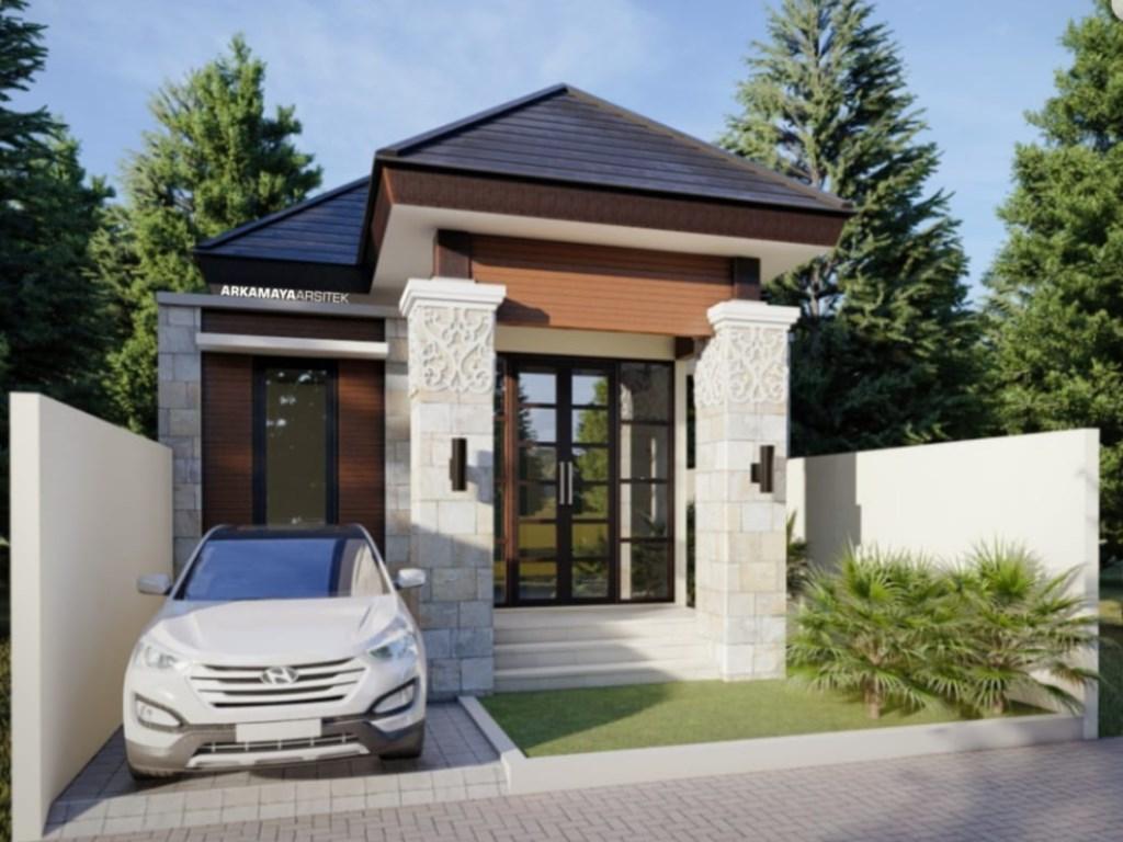 JASA ARSITEK KULONPROGO - Jasa Desain Bangun Rumah - Arkamaya Arsitek Kontraktor Jogja - Rumah 1 Lantai 120m2 - Bp. Rachmat KULONPROGO 4