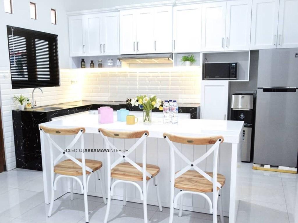 JASA DESAIN INTERIOR WATES - Jasa Desain Bangun Rumah - Arkamaya Arsitek Kontraktor Jogja - Rumah 1 Lantai 120m2 - Ibu Desti 02