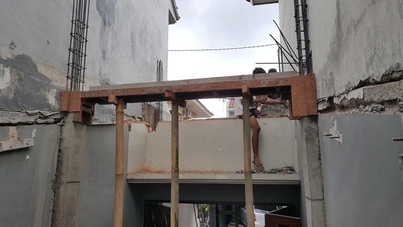 JASA RENOVASI RUMAH JOGJA - Jasa Desain Bangun Rumah - Arkamaya Arsitek Kontraktor Jogja - Renovasi Rumah Bertingkat 125m2 - Bpk. Tito SLEMAN 4