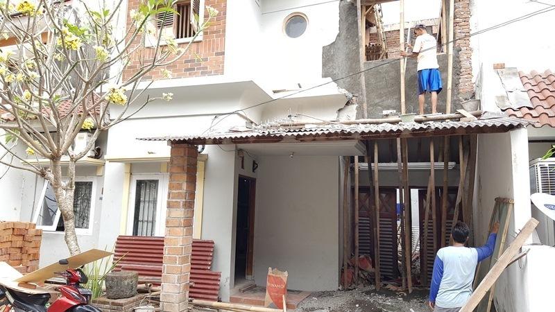 JASA RENOVASI RUMAH JOGJA - Jasa Desain Bangun Rumah - Arkamaya Arsitek Kontraktor Jogja - Renovasi Rumah Bertingkat 125m2 - Bpk. Tito SLEMAN 6