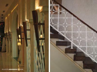 INTERIOR FURNITURE - Proyek Desain & Pelaksanaan Interior ALHAMBRA Spa-Bistro 2 Lantai - Mr. Waqqas Hartono Mall JOGJA