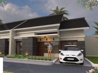 JASA ARSITEK CILEGON - Proyek Desain Rumah Tinggal 1 Lantai 72m2 - Bpk. Syamsul Hadi CILEGON - Jasa Desain Bangun Rumah - Arkamaya Arsitek Kontraktor Jogja