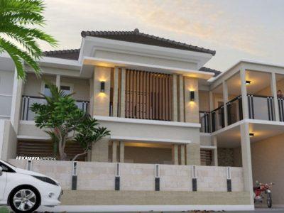 JASA ARSITEK CIREBON - Proyek Desain Rumah Tinggal Bertingkat 290m2 - Ibu Indah Laras CIREBON - Jasa Desain Bangun Rumah - Arkamaya Arsitek Kontraktor Jogja