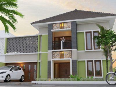 JASA ARSITEK MAKASSAR - Proyek Desain Rumah Tinggal Bertingkat 265m2 - Bpk. Andi Tridika MAKASSAR - Jasa Desain Bangun Rumah - Arkamaya Arsitek Kontraktor Jogja