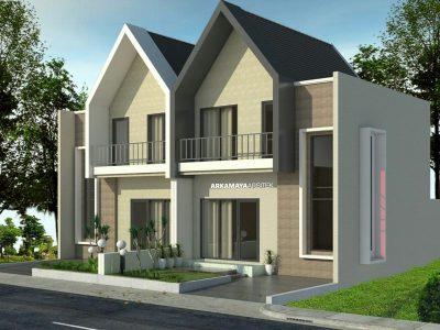 JASA ARSITEK SLEMAN - Proyek Desain Perumahan Rumah 2 Lantai 90m2 - Bpk. Novik Kurohman SLEMAN - Jasa Desain Bangun Rumah - Arkamaya Arsitek Kontraktor Jogja