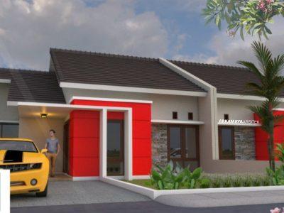 JASA ARSITEK TANGERANG - Proyek Desain Rumah Tinggal 1 Lantai 48m2 - Ibu Dini Hastarini TANGERANG - Jasa Desain Bangun Rumah - Arkamaya Arsitek Kontraktor Jogja