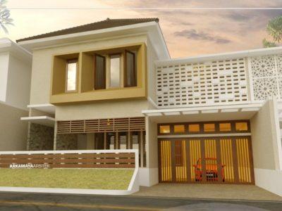 JASA ARSITEK TEGAL - Proyek Desain Rumah Tinggal Bertingkat 533m2 - Bpk. Mukmin Yaman TEGAL - Jasa Desain Bangun Rumah - Arkamaya Arsitek Kontraktor Jogja