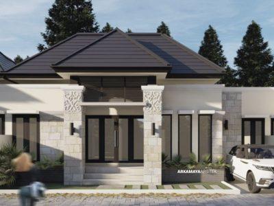 JASA ARSITEK YOGYAKARTA - Proyek Desain Perumahan Rumah 1 Lantai 60m2 - Bpk. Anang Sugiyono SLEMAN - Jasa Desain Bangun Rumah - Arkamaya Arsitek Kontraktor Jogja