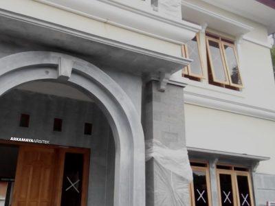 KONTRAKTOR BANGUN RUMAH - Proyek Desain & Pembangunan Rumah Tinggal 2 Lantai - Bpk. Rahmat Purwanto YOGYAKARTA (4)